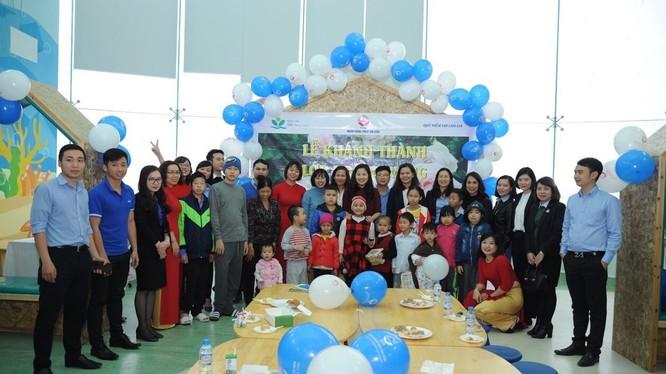 Lễ khánh thành lớp học Hy Vọng tại Bệnh viện Nhi Trung ương