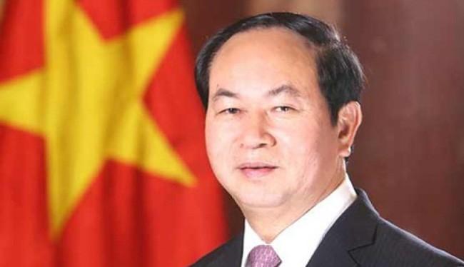 Chủ tịch nước Trần Đại Quang. (Ảnh: TTXVN)