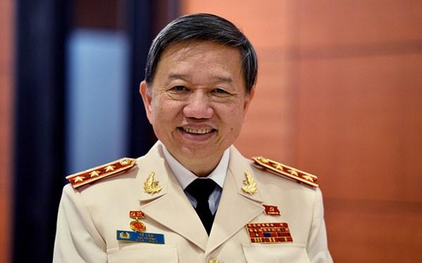 Thượng tướng Tô Lâm, Ủy viên Bộ Chính trị, Bí thư Đảng ủy Công an Trung ương, Bộ trưởng Bộ Công an