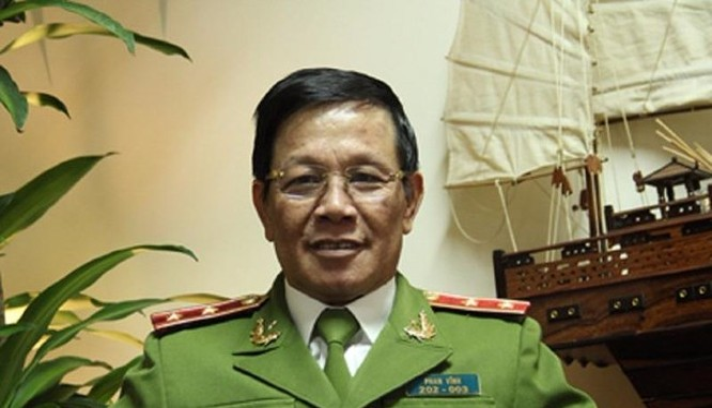 Trung tướng Phan Văn Vĩnh. Ảnh: CAND