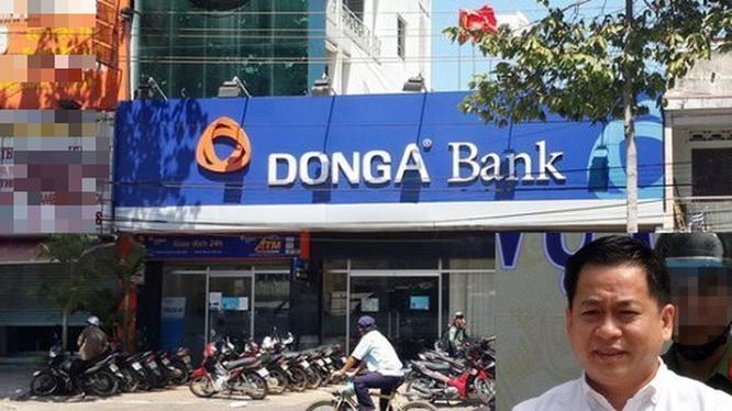 Sai phạm của Phan Văn Anh Vũ (ảnh nhỏ) trong vụ án tại Ngân hàng Đông Á đã được tách ra để điều tra riêng