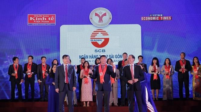 """SCB 06 năm liền đạt danh hiệu """"Thương hiệu mạnh Việt Nam"""""""