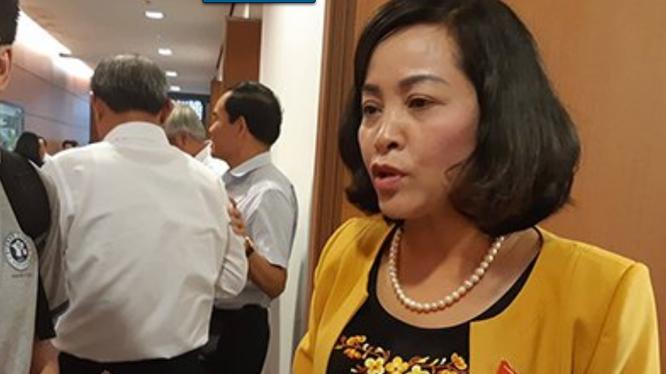 Bà Nguyễn Thị Thanh, Bí thư Tỉnh ủy tỉnh Ninh Bình