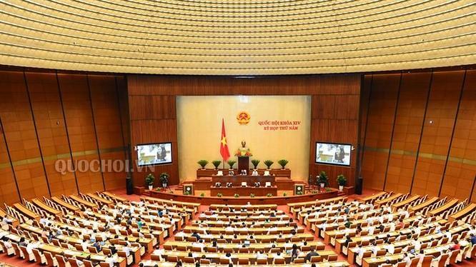 Trong quá trình thảo luận, thành viên Chính phủ sẽ phát biểu giải trình, làm võ vấn đề ĐBQH nêu - Ảnh: QH