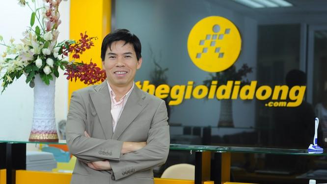CEO TGDĐ Nguyễn Đức Tài - Ảnh: MWG