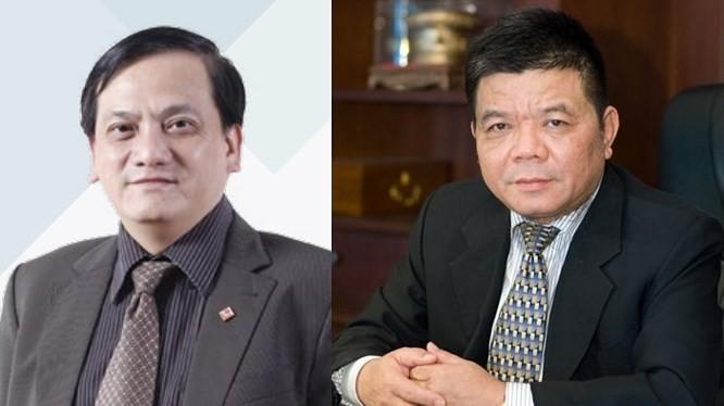 Ông Trần Lục Lang và ông Trần Bắc Hà. Nguồn: Internet