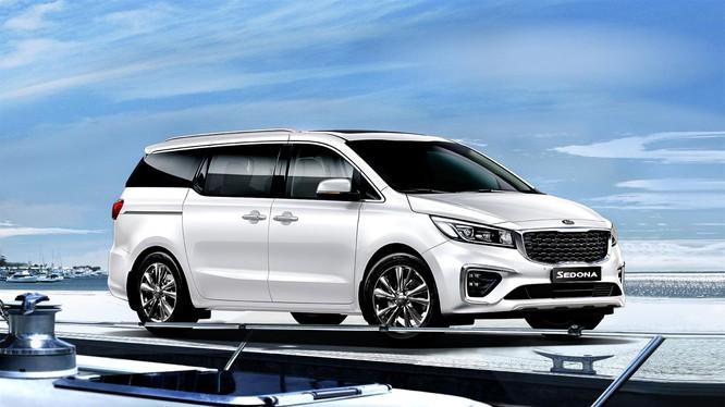 Kia Sedona mới thu hút sự quan tâm của khách hàng Việt dù chưa chính thức ra mắt