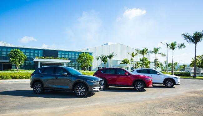 3 màu sơn mới trên Mazda CX5