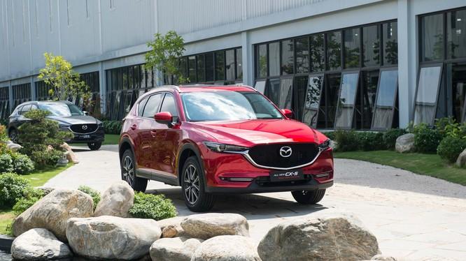 Thaco công bố giá bán xe Mazda màu sơn cao cấp mới.
