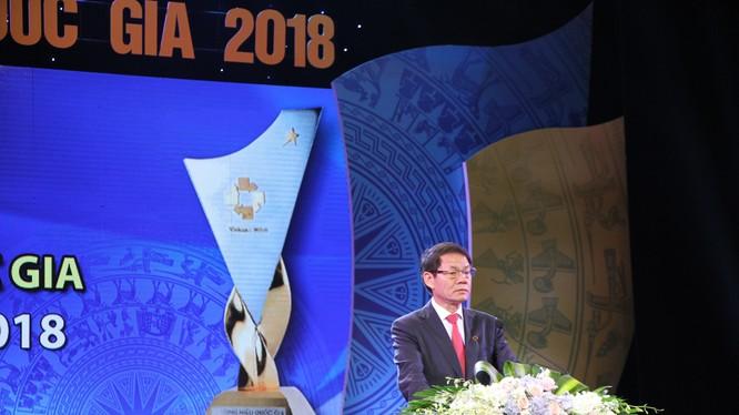 Ông Trần Bá Dương, Chủ tịch Thaco phát biểu tại buổi lễ.