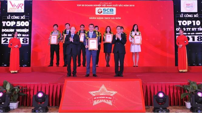Lễ công Bố bảng xếp hạng VNR500 - Top 500 doanh nghiệp lớn nhất Việt Nam năm 2018.