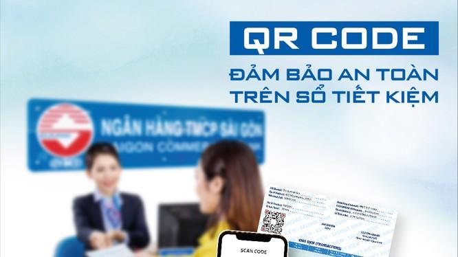 SCB triển khai tính năng tra cứu thông tin sổ tiết kiệm bằng mã QR Code