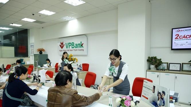 VPBank báo lãi 1.900 tỷ đồng trong Quý 1/2019.