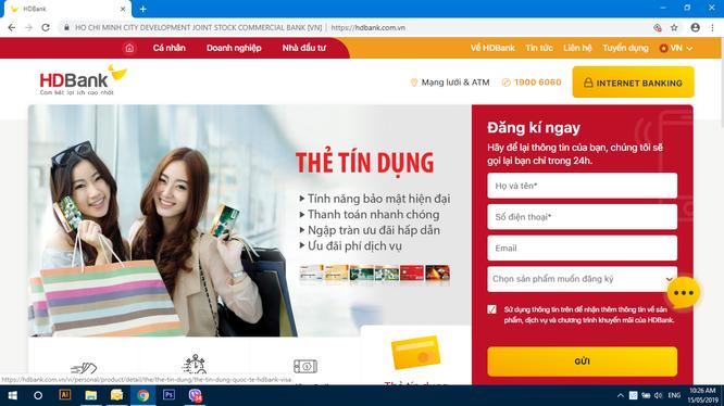 Nền tảng mới của website HDBank tương thích mọi trình duyệt, hoạt động tốt trên hầu hết thiết bị truy cập.