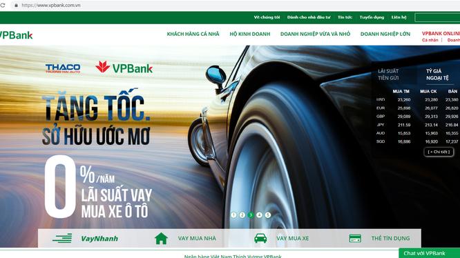 VPBank là một trong những ngân hàng tiên phong trên thị trường đưa các dịch vụ ngân hàng số vào ứng dụng thực tiễn.