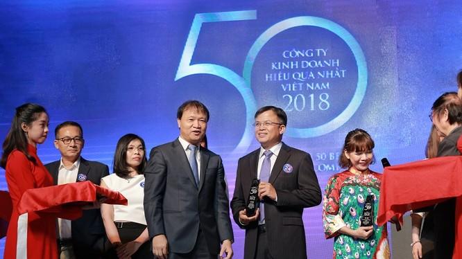 Ông Phan Ngọc Hòa, Phó Tổng Giám đốc VPBank nhận giải.