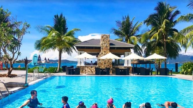 Góc bể bơi dành cho trẻ em tại Vinpearl Phú Quốc
