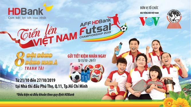 Từ năm 2017, HDBank đã gắn bó với bộ môn Futsal Việt Nam