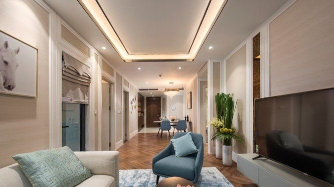 Mỗi căn hộ tại King Palace đều là sản phẩm giới hạn được thiết kế đẳng cấp và khác biệt