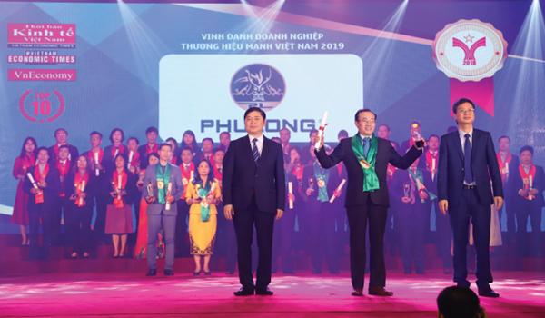 Công ty Phú Long đã được vinh danh trong Top 10 Thương hiệu mạnh dẫn đầu Việt Nam 2018.
