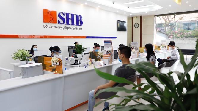 SHB hoạt động phương châm hoạt động kinh doanh luôn đồng hành và chia sẻ khó khăn cùng khách hàng