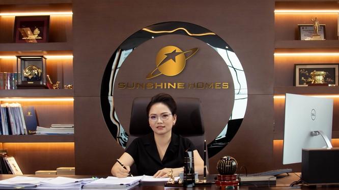 Bà Nguyễn Thị Định - Tân TGĐ Sunshine Homes