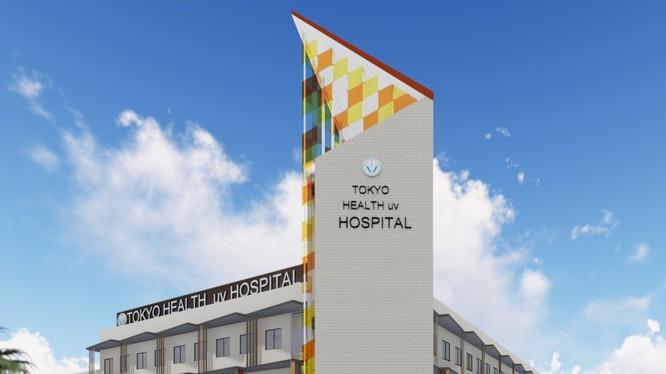 Phối cảnh bệnh viện Đại học Y khoa Tokyo tại khu đô thị Ecopark