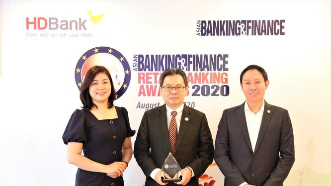 HDBank lần thứ 2 liên tiếp nhận giải thưởng từ tổ chức Asian Banking & Finance.