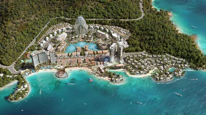 Hình ảnh phối cảnh dự án Vega City Nha Trang của Tập đoàn KDI Holdings