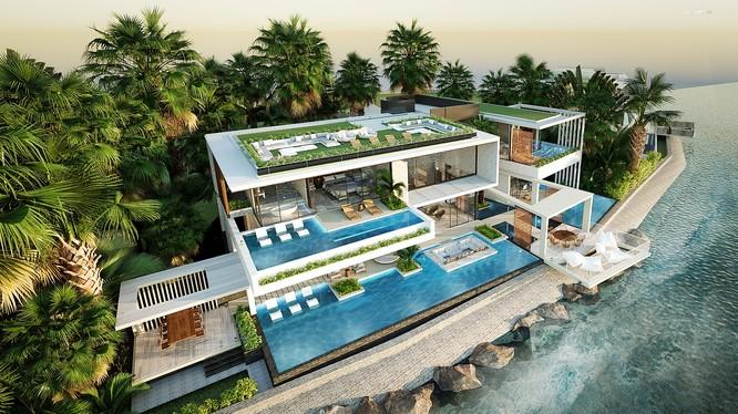 Phối cảnh VIP Villa sát biển tại Vega City Nha Trang.