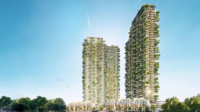 Với chiều hơn 150 m, khi hoàn thành, Solforest sẽ trở thành một trong những toà tháp biểu tượng xanh cao nhất thế giới.
