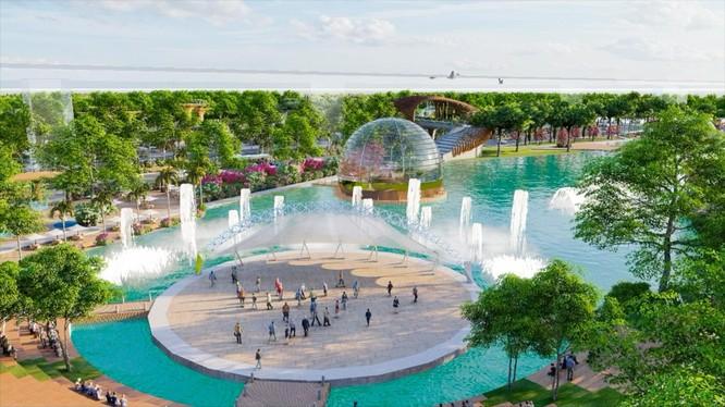 Công viên di sản nằm trong lòng dự án Sunshine Heritage tại Hà Nội,