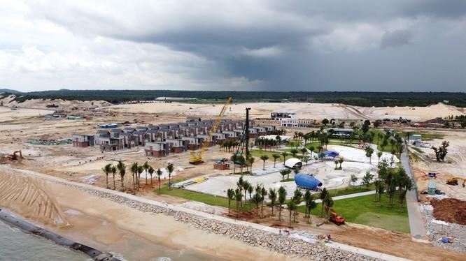 Hồ Tràm hiện là một trong những địa phương hưởng lợi nhiều nhất từ đề án đẩy mạnh liên kết vùng của chính phủ.
