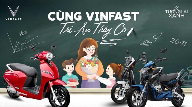 """Trong tháng 11 VinFast triển khai chương trình """"Cùng VinFast tri ân Thầy cô"""""""