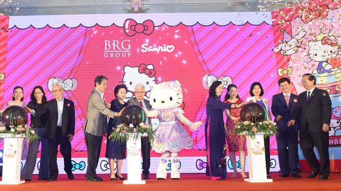 Nghi thức công bố triển khai dự án Sanrio Hello Kitty World Hanoi by BRG