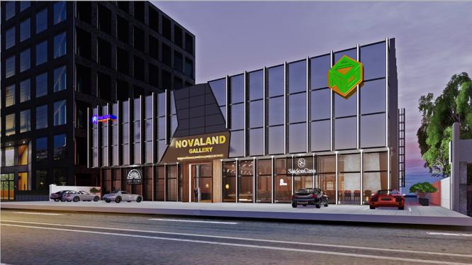 Novaland Gallery - Trung tâm triển lãm, giao dịch bất động sản lớn nhất tại khu vực miền Nam.