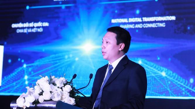 Thứ trưởng Bộ Thông tin và Truyền thông Nguyễn Huy Dũng phát biểu tại sự kiện