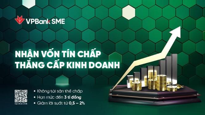 Với hạn mức dồi dào và lãi suất hấp dẫn, VPBank tin tưởng sẽ giúp SME tiếp cận nguồn vốn nhanh chóng