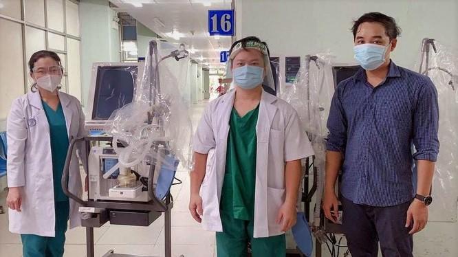 31 máy thở hiện đại do VPBank tài trợ đã được bàn giao cho các bệnh viện tại TPHCM và Long An ngay trong 2 ngày 19 - 20.7 (2)