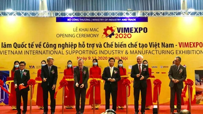 Triển lãm VIMEXPO 2020 mở cửa đón khách tham qua từ 9-11/12/2020 tại Trung tâm Triển lãm quốc tế ICE Hà Nội.
