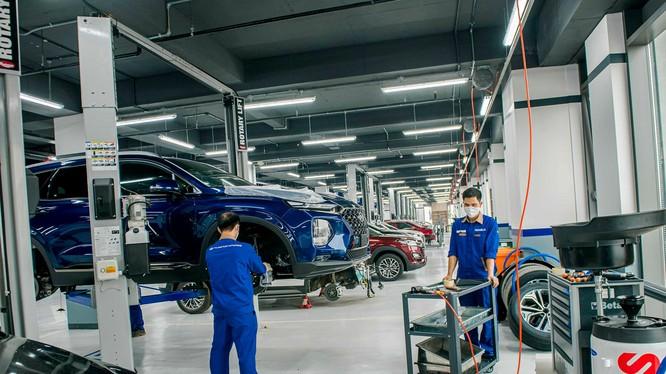 Một xưởng dịch vụ ủy quyền chính hãng Hyundai By TC MOTOR