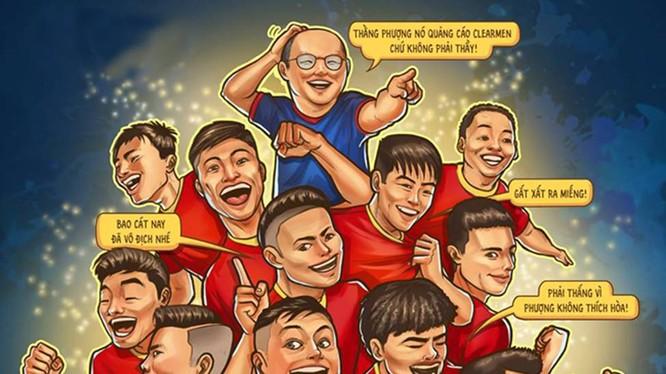 Về góc độ chuyên môn, việc thắng Thái Lan 1-0 đảm bảo cho chúng ta nằm trong tốp 16 của châu Á (vị trí thứ 15). Ảnh hs Thành Thắng
