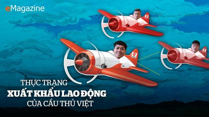 Gần 2 thập kỷ nay, việc xuất khẩu cầu thủ Việt Nam ra nước ngoài thi đấu chưa bao giờ dễ dàng (ảnh VietTimes)
