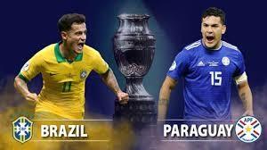 """Bóng đá Brazil và Paraguay mang hai trường phái đối lập như """"nước và lửa"""" (ảnh AP)"""