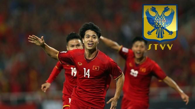 Tiền đạo này là một phần không thể thiếu của ĐT Việt Nam, khi ghi được 8 bàn thắng sau 33 lần khoác áo ĐTQG (ảnh VietTimes)