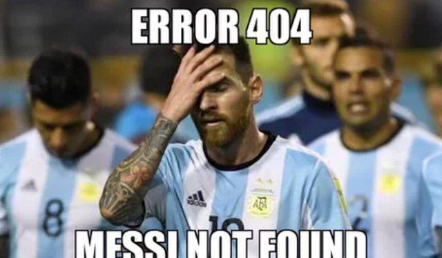 Tạo hóa đang chơi trò đùa dai với Messi (ảnh VietTimes)