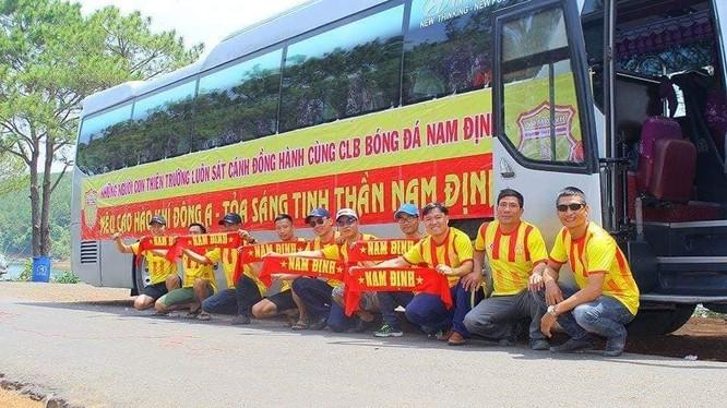 Trở lại Nam Định, nơi anh đã 11 năm gắn bó, Sỹ Minh đang được fan Nam Định kỳ vọng rất nhiều (ảnh VietTimes)