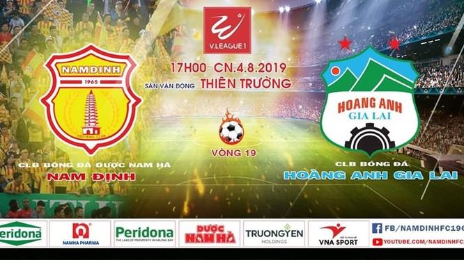 """Trên hành trình trở thành """"vua sân nhà"""", Nam Định đã gặp """"ông vua của những phút cuối"""", đội bóng sở hữu nhiều quả penalty gây nhiều tranh cãi nhất, đội sở hữu nhiều siêu phẩm sút xa nhất. (Ảnh VietTimes)."""