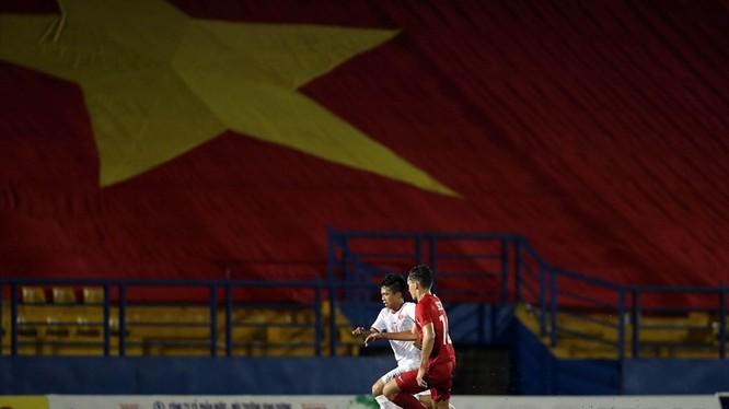 Next Media là đơn vị đầu tiên ở Việt Nam phát sóng trực tiếp các trận bóng đá trên nền tảng kỹ thuật số. Ảnh VPF.