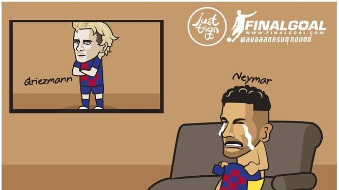 """""""Bom đã bị xì vào phút cuối nhưng dấu vết bị cháy sẽ để lại vết nứt trên mặt đất, vết nứt trong nhiều mối quan hệ"""", tờ Marca ví von. Ảnh Marca."""